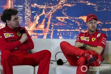 Binotto, Vettel'e ayrılık kararını bildirmeden önce 3 kez çalışmış