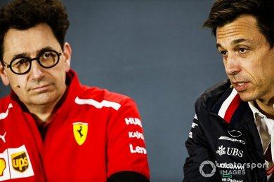"""Binotto, """"FIA ile anlaşmamız gizli ..."""