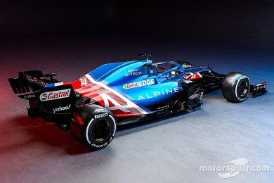 Renault, Mercedes F1 motor konsepti...